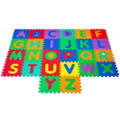 Mini Child Puzzle Eva.2 Educational Toy Alphabet A-Z Letters Numeral Foam G