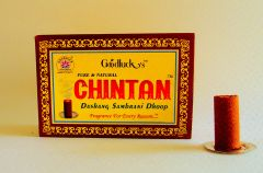 """Prayer Accompaniments - """"Chintan"""" Dashang Sambrani Dhoop - Highly soothing (24 sticks in a packet)"""