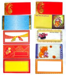 Envelopes - Money Envelopes  10 Occassions X 5 Pcs each TOTAL 50 Pcs