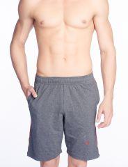 V Star Mens  Cotton Charcoal Shorts & 3/4Ths