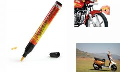 Spidy Moto Auto Smart Coat Paint Scratch Repair Remover Touch Up Pen for Mahindra  Gusto 125