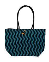 Snoby Block printed Cotton Shoulder Bag SBY1116010508