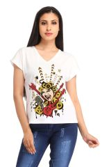 Rock Star Print t-shirt (SBY1309)