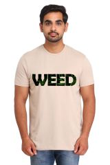 Men's Wear - Snoby Weed printed t-shirt (SBY16954)