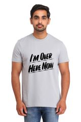 Snoby I'm over here now print t-shirt (SBY17541)