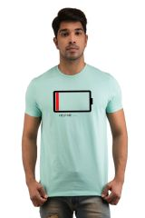 Snoby Battery Printed T-shirt(SBY18024)
