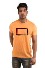 Snoby Battery Printed T-shirt(SBY18027)