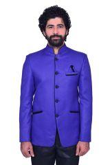 Snoby Blue mini jute Ethnic wear(SBY9010)