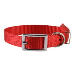 Pet Supplies - Snoby Red Nylon collar Belt (SBYSC37)