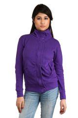 Winter Wear (Women's) - Purple Plain jacket (SET_1029)