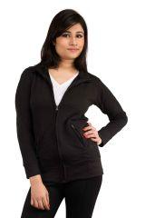 Snoby Black self designed jacket (SET_1045)