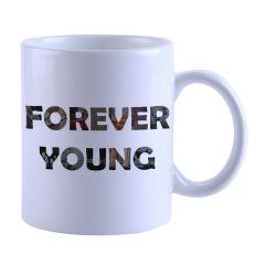 Forever Young Printed Mug(SETG_261)