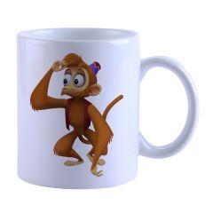 Monkey Printed Mug(SETG_463)