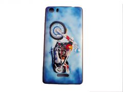 Snoby Silicon Back Cover for Micromax Canvas 5 E481 (Multicolor) (SETM_195)