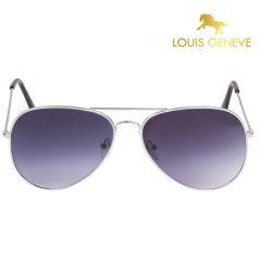 Louis Geneve Blue Plastic Sunglass For Men(Product Code)_LG-SM-55-FS-BLUE
