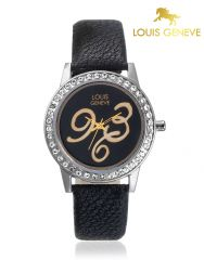 Louis Geneve Round Womens Watch_Lg-Lw-Black-07