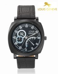 LOUIS GENEVE Mens Wrist Watch_LG-MW-BLACK-006