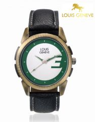 LOUIS GENEVE Mens Wrist Watch_LG-MW-GBLACK-004