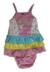 FROCK - Multicolor Frock with Panty for 6-12 Month Size - '3'