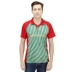 T10 Sports Microfiber Multicolor Bangladesh Fan Jersey T Shirt For Men - (Code -8907173077728_p)