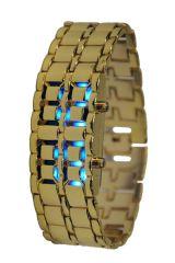 Men's Watches   Rectangular Dial   Metal Belt - LED Chain Watches - DW 2
