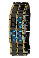 Men's Watches   Rectangular Dial   Metal Belt - Chain Watches For Men - LED W 1