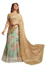 Ridham Fashions Multi Colour Georgette Bollywood Replica Designer Sarees 6878-M