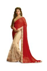 Ridham Fashions Multi Colour Georgette Bollywood Replica Designer Sarees 6893-M