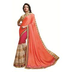 Ridham Fashions Multi Color Georgette Designer Saree 8480A