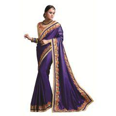 Ridham Fashions Multi Color Georgette Designer Saree 8482B