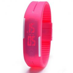 ADAMO JELLY SLIM FRIENDSHIP BAND LED WATCH