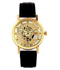 Watches - Classic Automatic Transparent Golden Designer Wrist Watch For Men