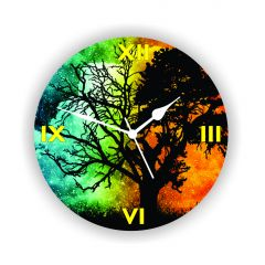 Enamor Home Decor & Furnishing - ENAMEL WALL CLOCK BAZEE003