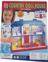 Educational Toy 24 PCs Doll House