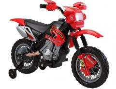 Brunte B:Wild Battery Operated Rideon Lean Motor Bike 14 Red