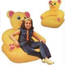 Inflatable Cute Teddy Bear Shaped Chair Cum Sofa