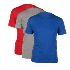 Men's Plain Round Neck T-shirts (pack Of 3)