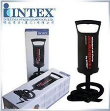 Intex Heavy Duty Manual Air Pump For Inflatable Sofa Toys Kids Pool Air Bed