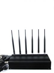 High Power Mobile Phone Jammer 4 Antenna