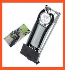 Foot Pump With Thick Gauge Capacity