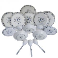 Dinner sets - Czar 24 Pic Dinner Set-flower Print-1009