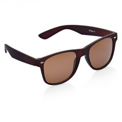 Vicbono Brown Wayfarer Sunglasses For Men-(code-vbsg-015)