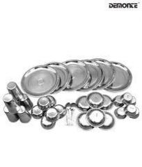 36pcs Stainless Steel Dinner Set