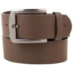 Belts (Men's) - Gluck Germany Leather Brown Belt