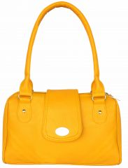 All Day 365 Yellow Colour Shoulder Bag For Women (code-hbd15)