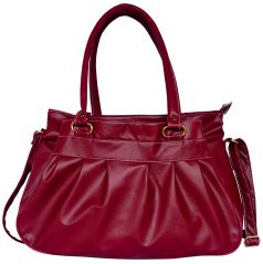 ALL DAY 365 Shoulder Bag (MAROON)(CODE-HBD36)