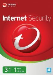 Trend Micro Internet Security 1 Year 3 PC Licence Key