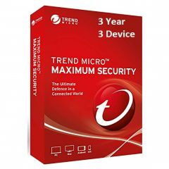 Trend Micro Maximum Security 3 Year 3 PC Licence Key