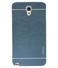Motomo Brushed Metal Hard Back Case For Samsung Galaxy Note 3 Neo -blue