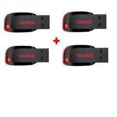 Sandisk Cruzer Blade 4GB Pendrive - Pack Of 4(free Shipping)